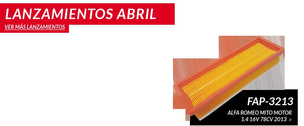 Lanzamientos de Abril 2015
