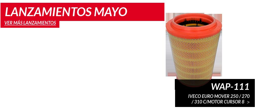 Lanzamientos de Mayo