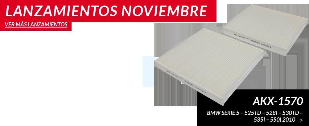 Lanzamientos de Noviembre