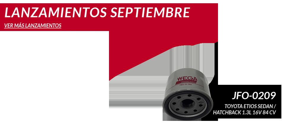 Lanzamientos de Septiembre 2015