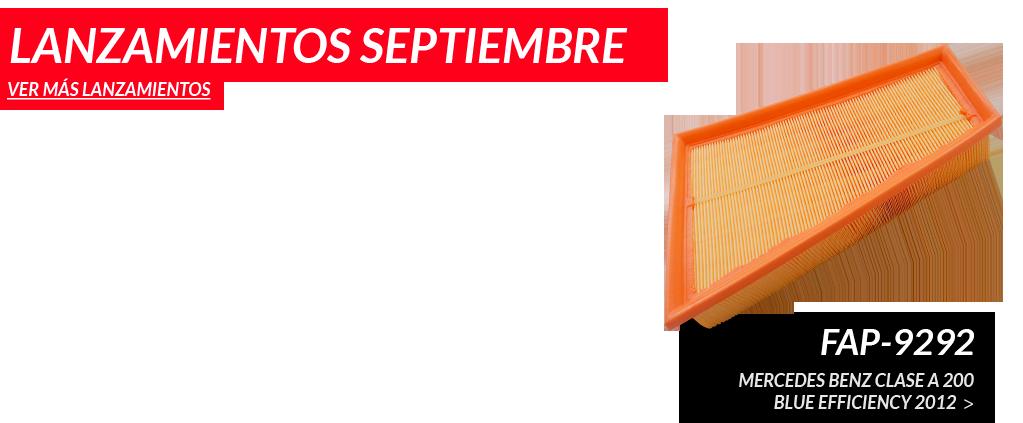 Lanzamientos de Septiembre