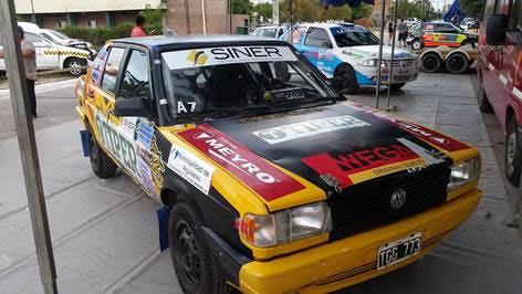 En busca del titulo Rally de Trancas
