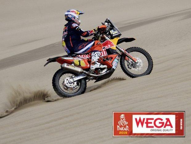 Dakar 2019: Wega estará presente como cada año