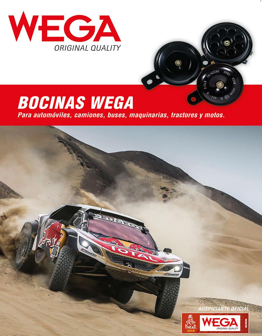 WEGA incorpora bocinas en su catálogo