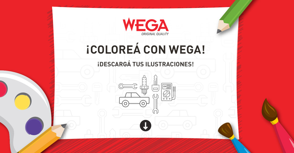 Coloreá con Wega