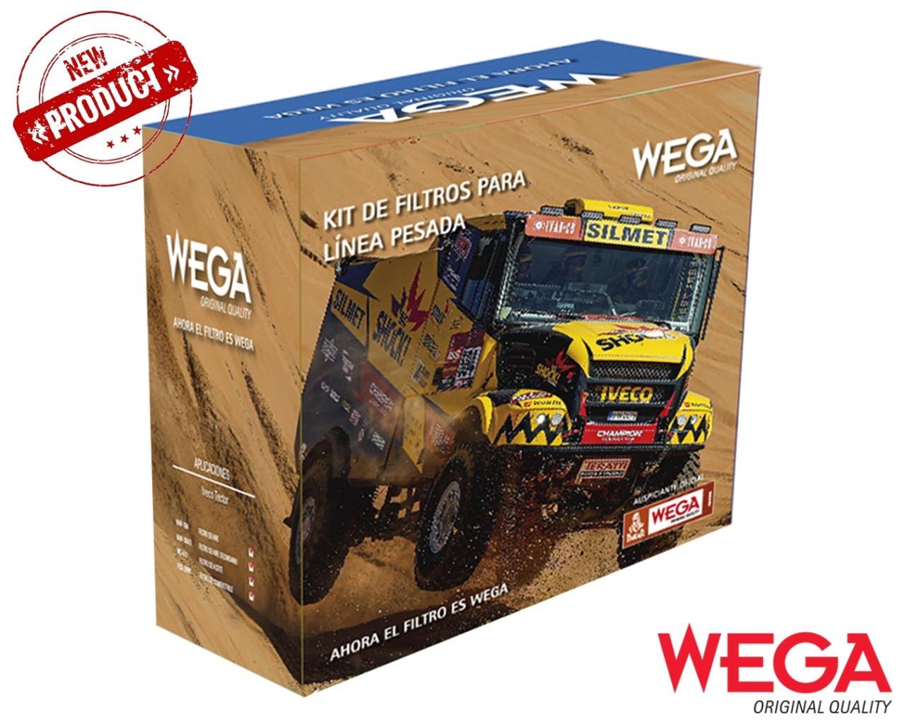 Wega lanza el primer kit de filtro de linea pesada